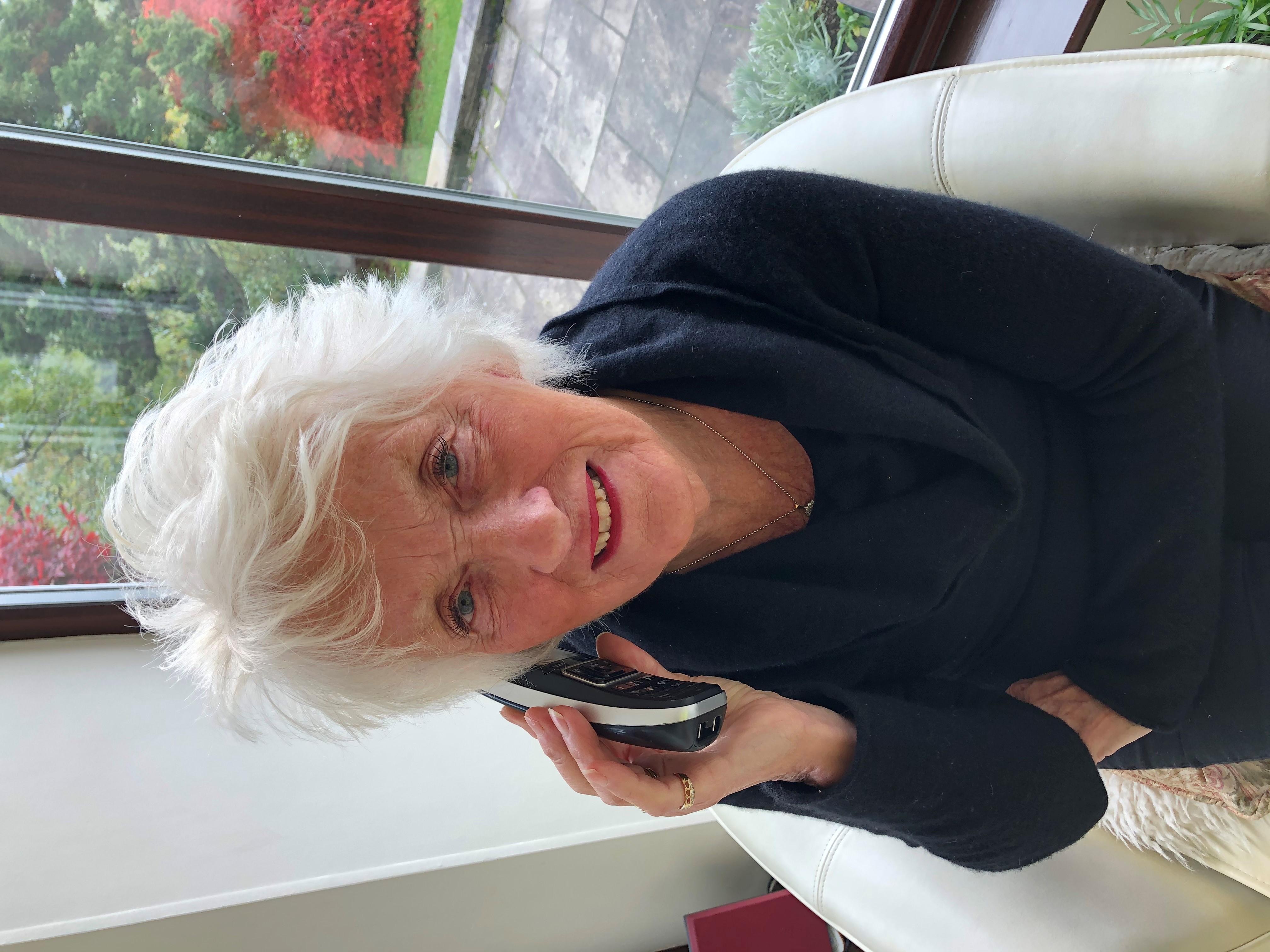 ROS supporter Christine Sharp